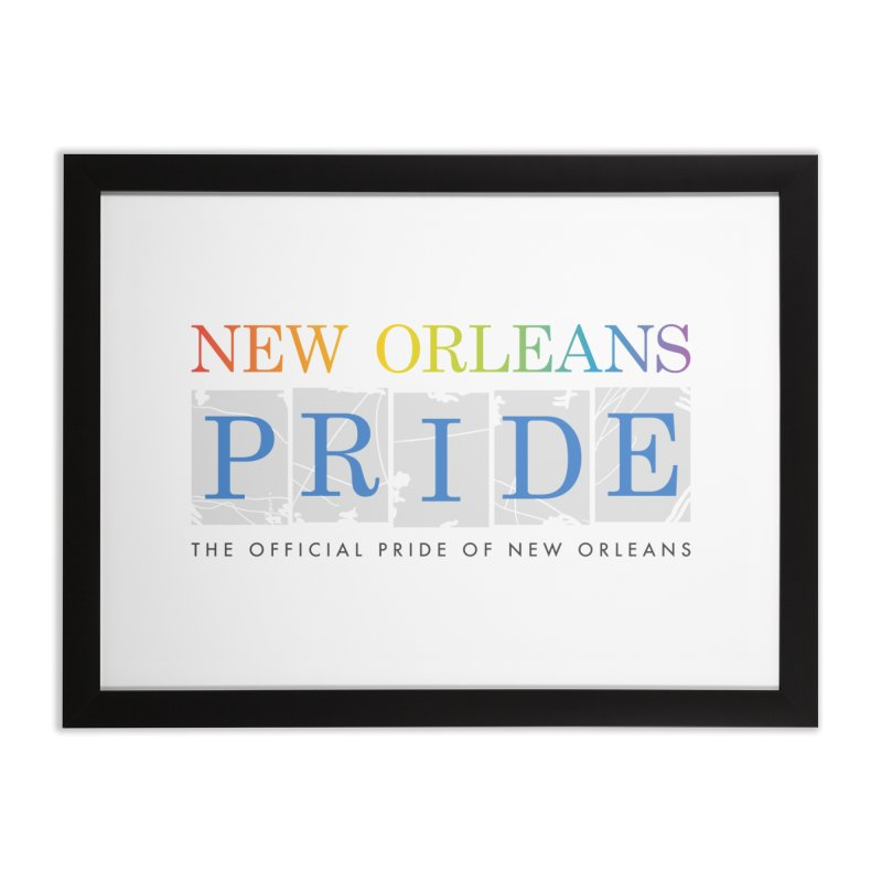 2017 logo items Home Framed Fine Art Print by New Orleans Pride