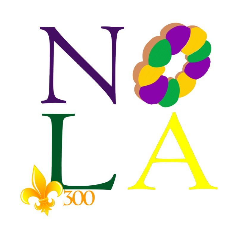 Mardi Gras T-Shirt Design Contest Winner by New Orleans Pride