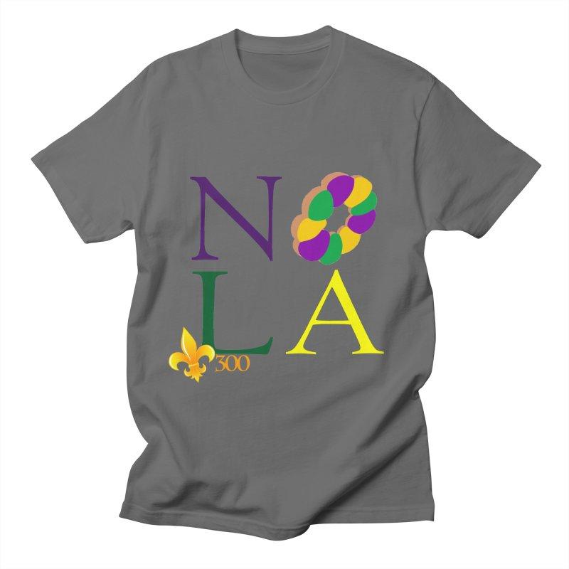 Mardi Gras T-Shirt Design Contest Winner Men's T-Shirt by New Orleans Pride