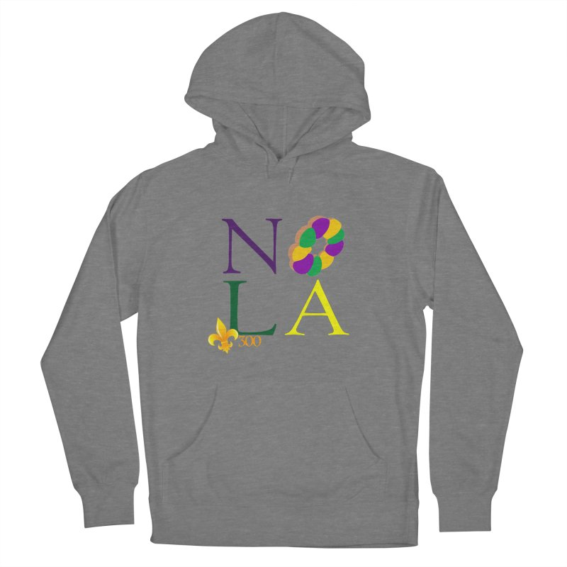Mardi Gras T-Shirt Design Contest Winner Women's Pullover Hoody by New Orleans Pride