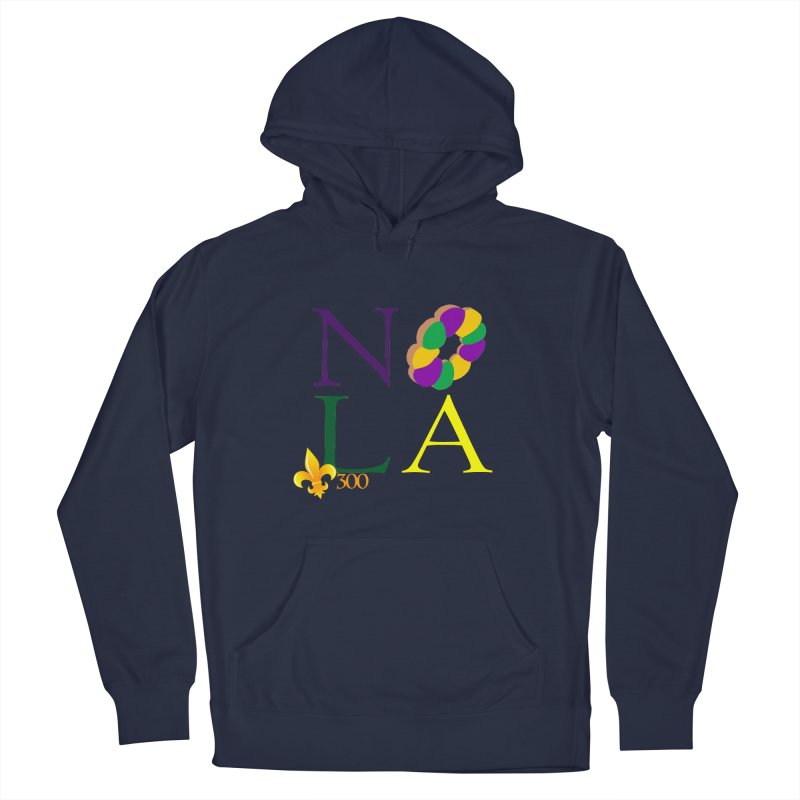 Mardi Gras T-Shirt Design Contest Winner Men's Pullover Hoody by New Orleans Pride