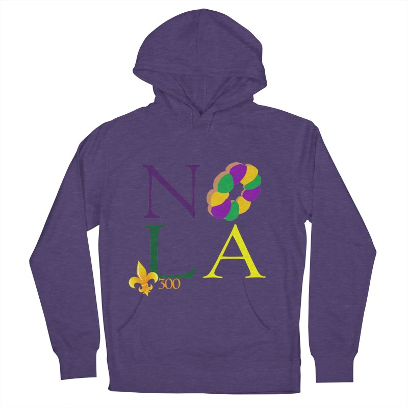 Mardi Gras T-Shirt Design Contest Winner Men's French Terry Pullover Hoody by New Orleans Pride