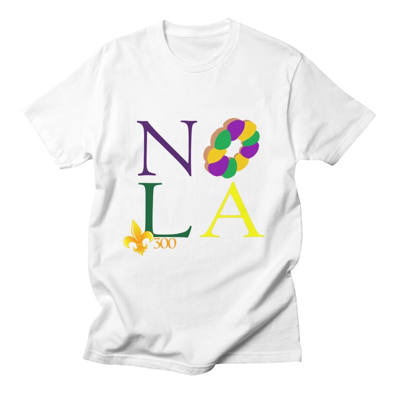 Mardi Gras T-Shirt Design Contest Winner Men's Regular T-Shirt by New Orleans Pride
