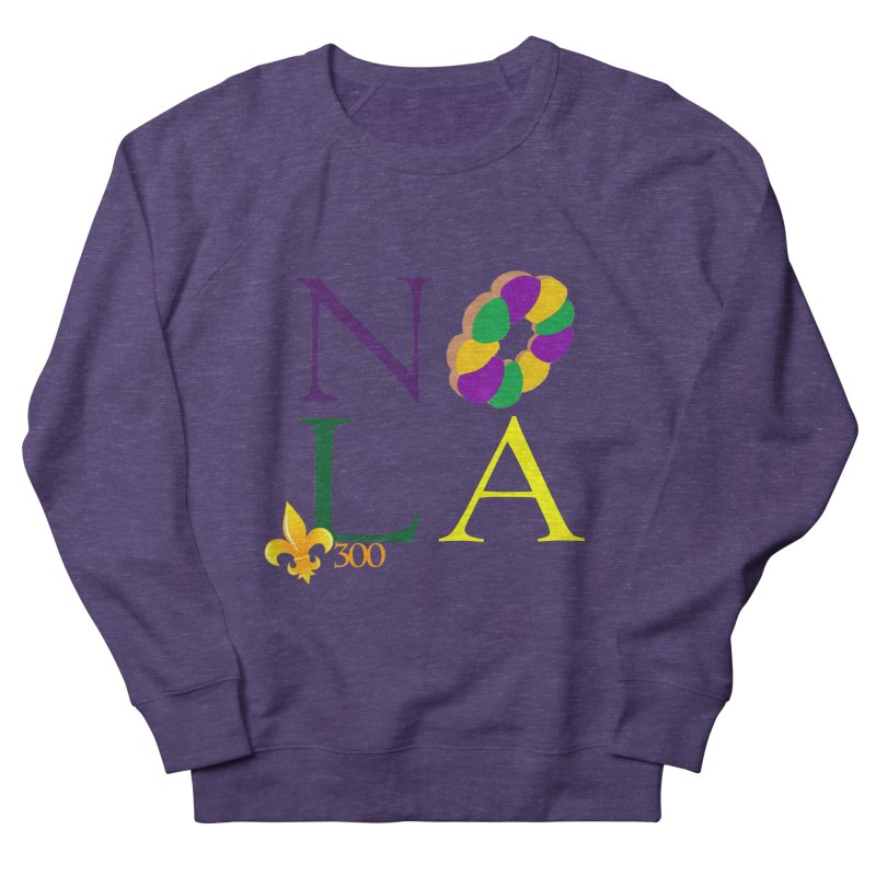 Mardi Gras T-Shirt Design Contest Winner Women's French Terry Sweatshirt by New Orleans Pride