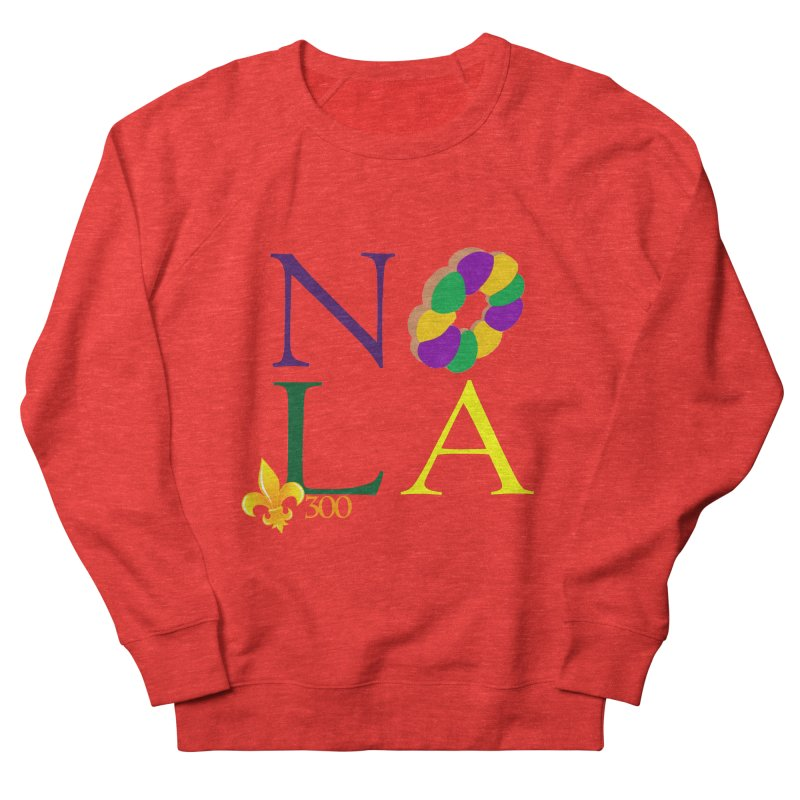 Mardi Gras T-Shirt Design Contest Winner Women's Sweatshirt by New Orleans Pride