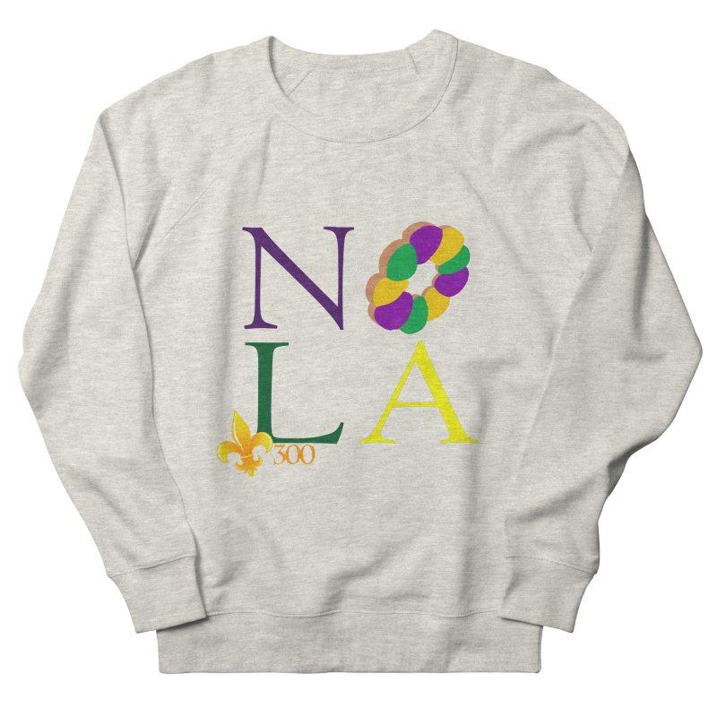 Mardi Gras T-Shirt Design Contest Winner Women's French Terry Sweatshirt by New Orleans Pride