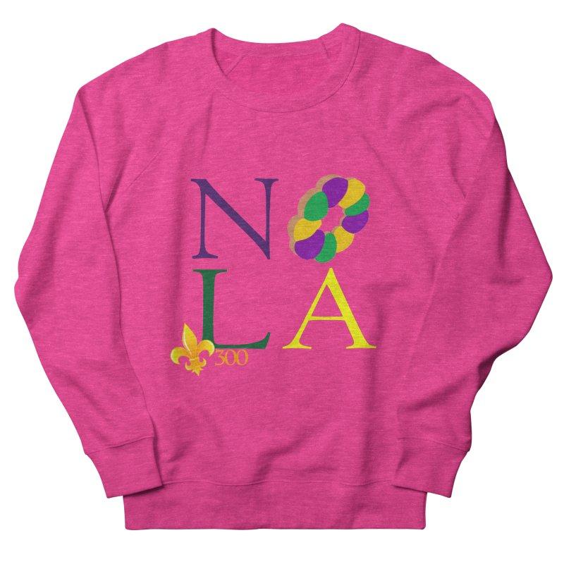 Mardi Gras T-Shirt Design Contest Winner Men's French Terry Sweatshirt by New Orleans Pride