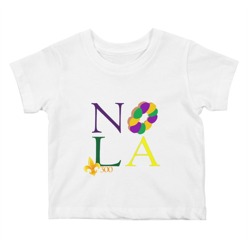 Mardi Gras T-Shirt Design Contest Winner Kids Baby T-Shirt by New Orleans Pride