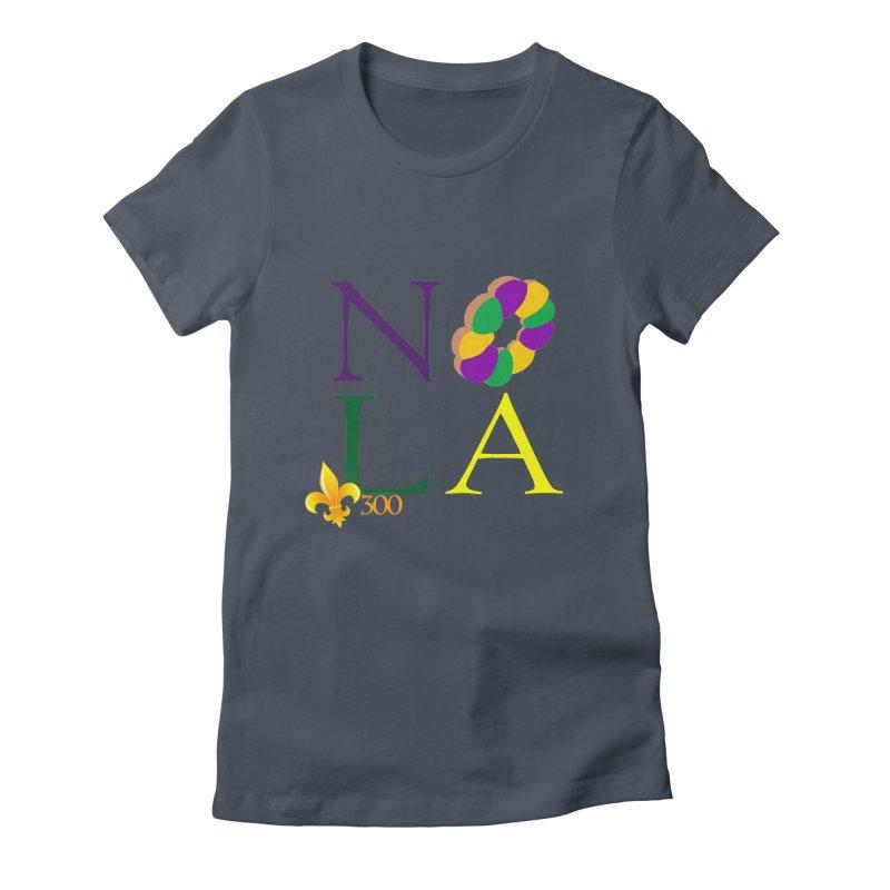 Mardi Gras T-Shirt Design Contest Winner Women's T-Shirt by New Orleans Pride