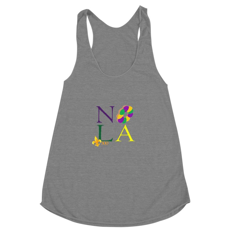 Mardi Gras T-Shirt Design Contest Winner Women's Tank by New Orleans Pride
