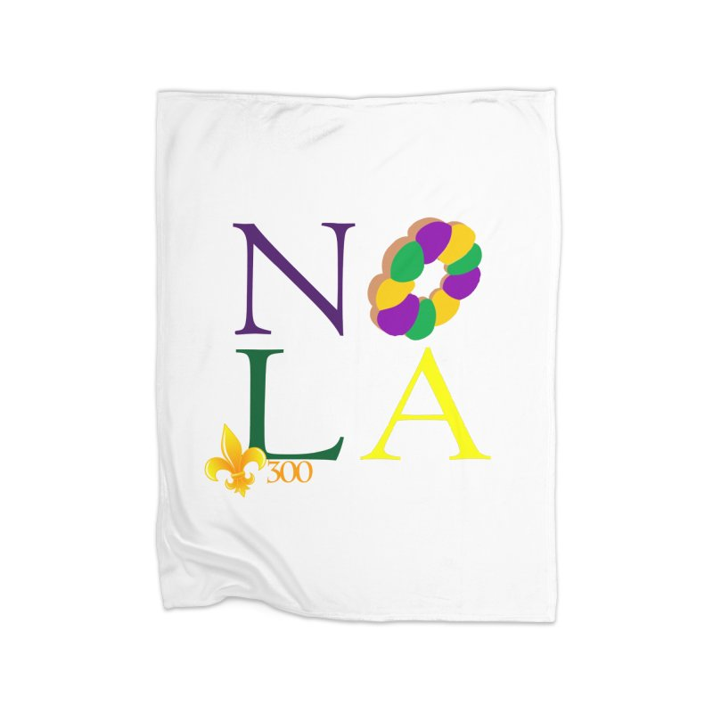 Mardi Gras T-Shirt Design Contest Winner Home Blanket by New Orleans Pride