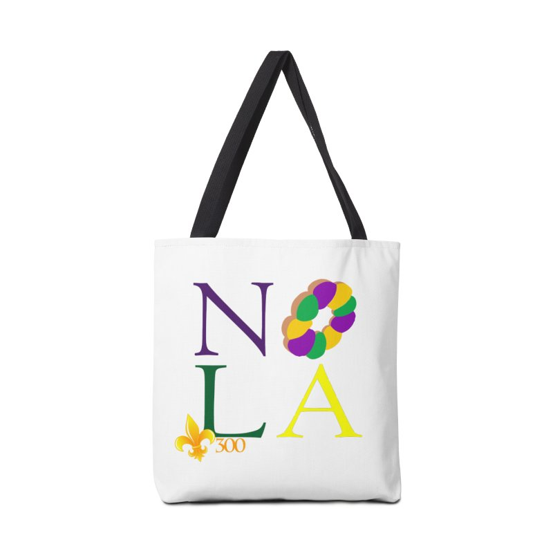 Mardi Gras T-Shirt Design Contest Winner Accessories Bag by New Orleans Pride