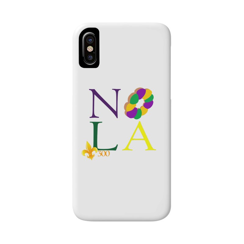 Mardi Gras T-Shirt Design Contest Winner Accessories Phone Case by New Orleans Pride