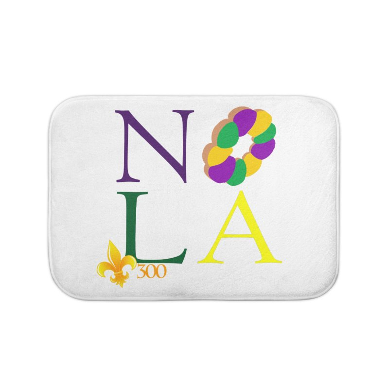 Mardi Gras T-Shirt Design Contest Winner Home Bath Mat by New Orleans Pride