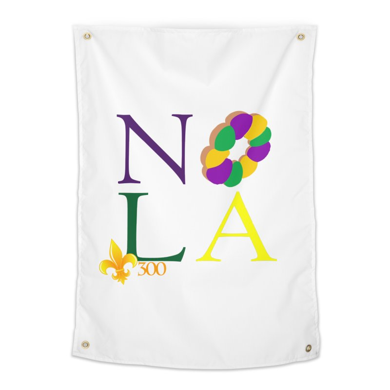 Mardi Gras T-Shirt Design Contest Winner Home Tapestry by New Orleans Pride