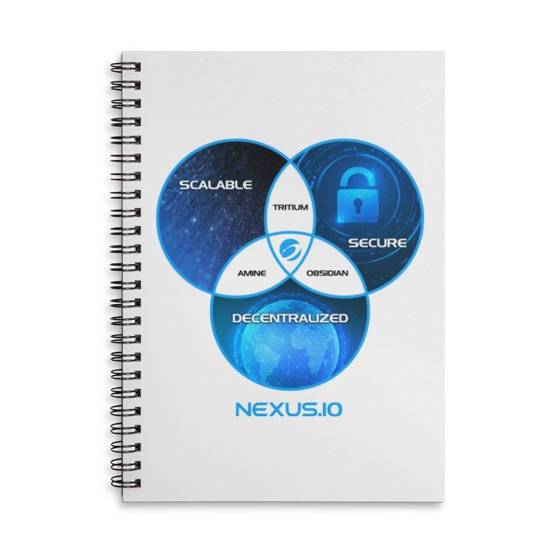 Nexus Trilemma Solved Accessories Notebook by Nexus Shop