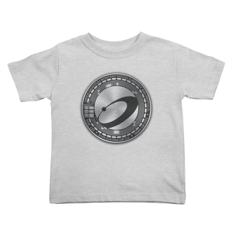 Quantum Resistant Digital Currency Kids Toddler T-Shirt by Nexus Shop