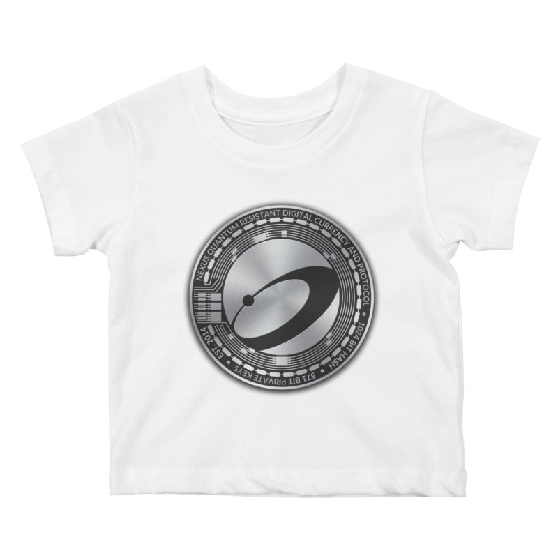 Quantum Resistant Digital Currency Kids Baby T-Shirt by Nexus Shop