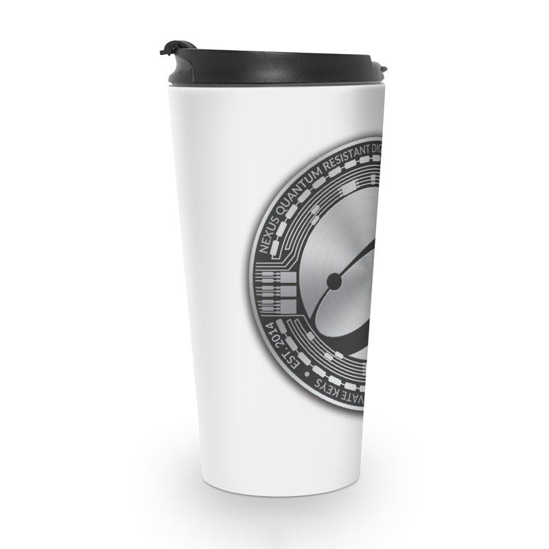 Quantum Resistant Digital Currency Accessories Travel Mug by Nexus Shop