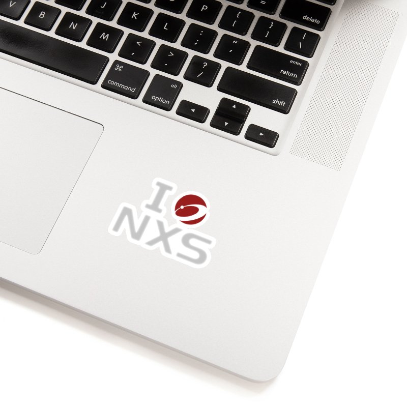 I Heart NXS Accessories Sticker by NexusEarth's Shop