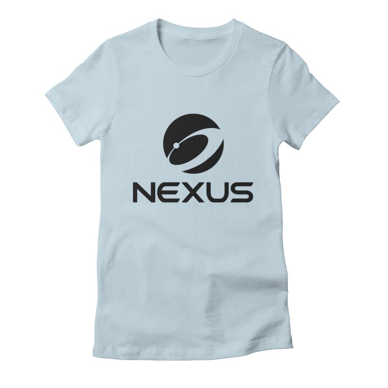 Black Nexus Logo Women's T-Shirt by Nexus Shop
