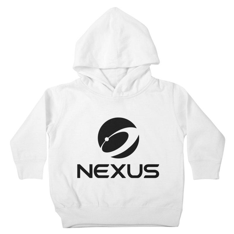 Black Nexus Logo Kids Toddler Pullover Hoody by Nexus Shop