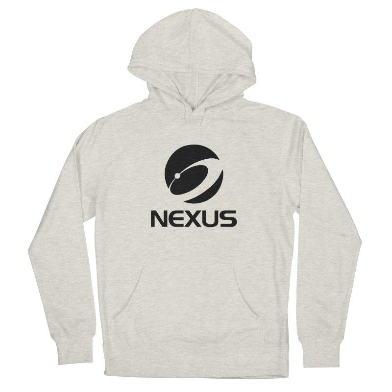 Black Nexus Logo Women's Pullover Hoody by NexusEarth's Shop
