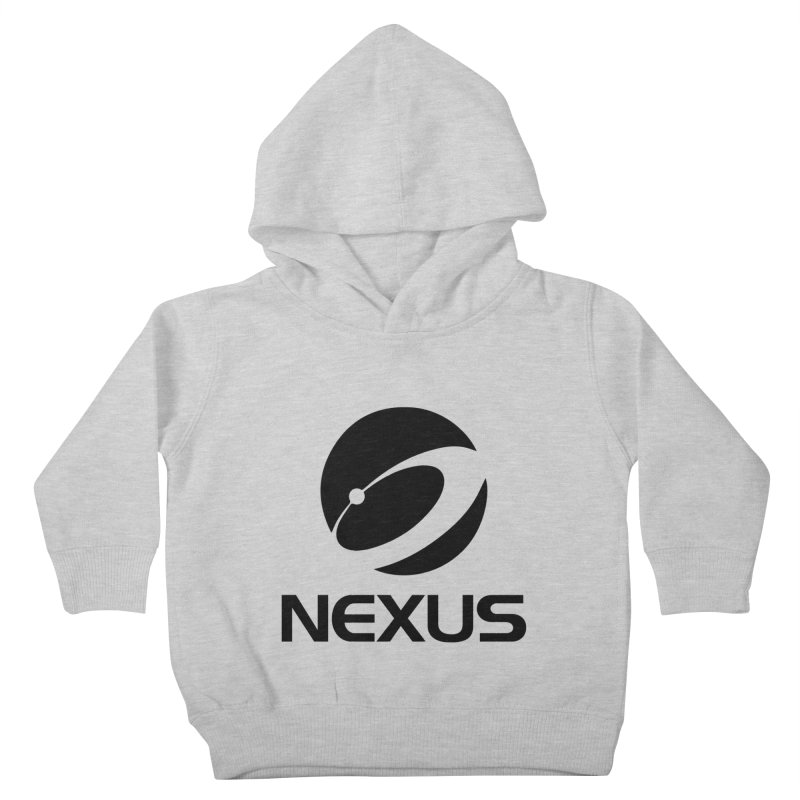 Black Nexus Logo Kids Toddler Pullover Hoody by NexusEarth's Shop