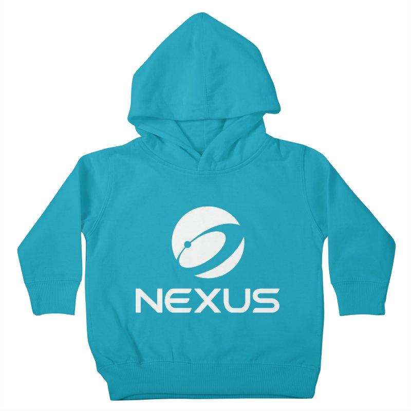 White Nexus Logo Kids Toddler Pullover Hoody by Nexus Shop