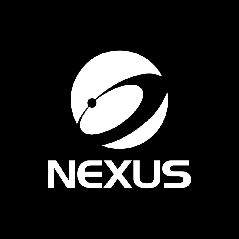 White Nexus Logo Men's T-Shirt by NexusEarth's Shop