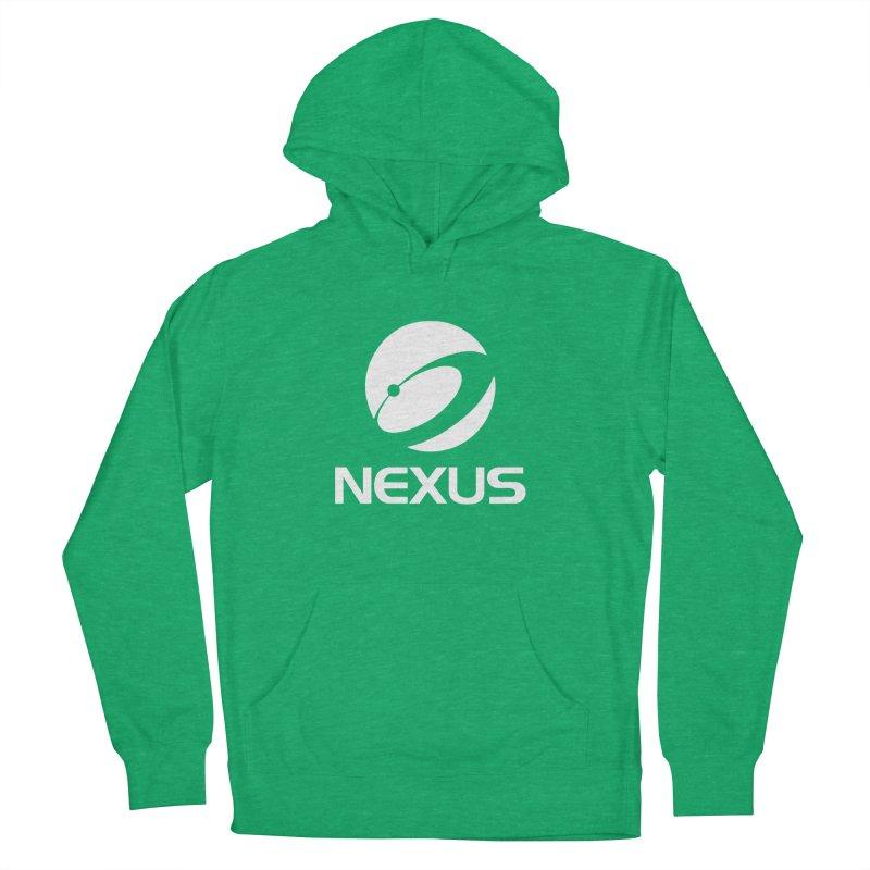 White Nexus Logo Women's Pullover Hoody by NexusEarth's Shop