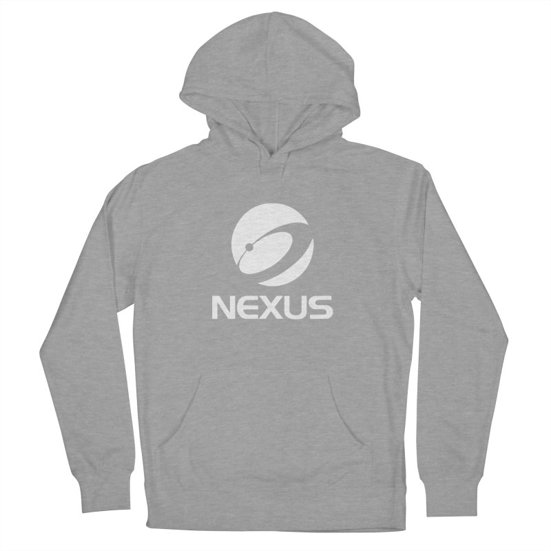 White Nexus Logo Women's French Terry Pullover Hoody by NexusEarth's Shop