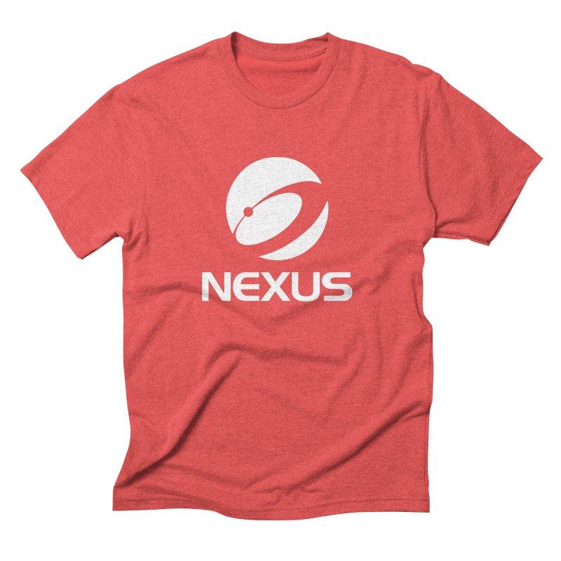 White Nexus Logo Men's Triblend T-shirt by NexusEarth's Shop