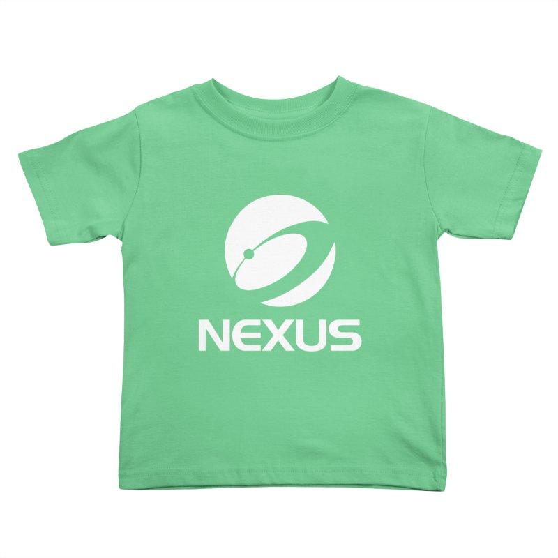 White Nexus Logo Kids Toddler T-Shirt by NexusEarth's Shop