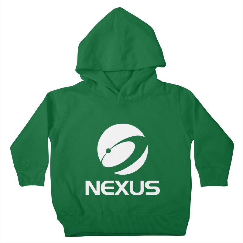 White Nexus Logo Kids Toddler Pullover Hoody by NexusEarth's Shop