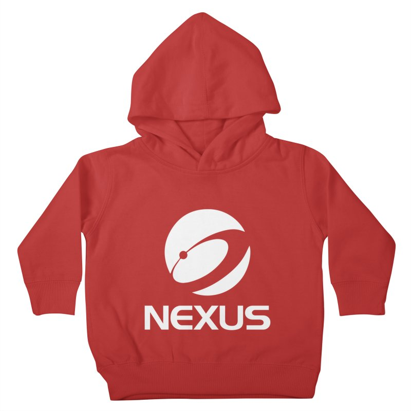 White Nexus Logo Kids Toddler Pullover Hoody by NexusEarth's Shop