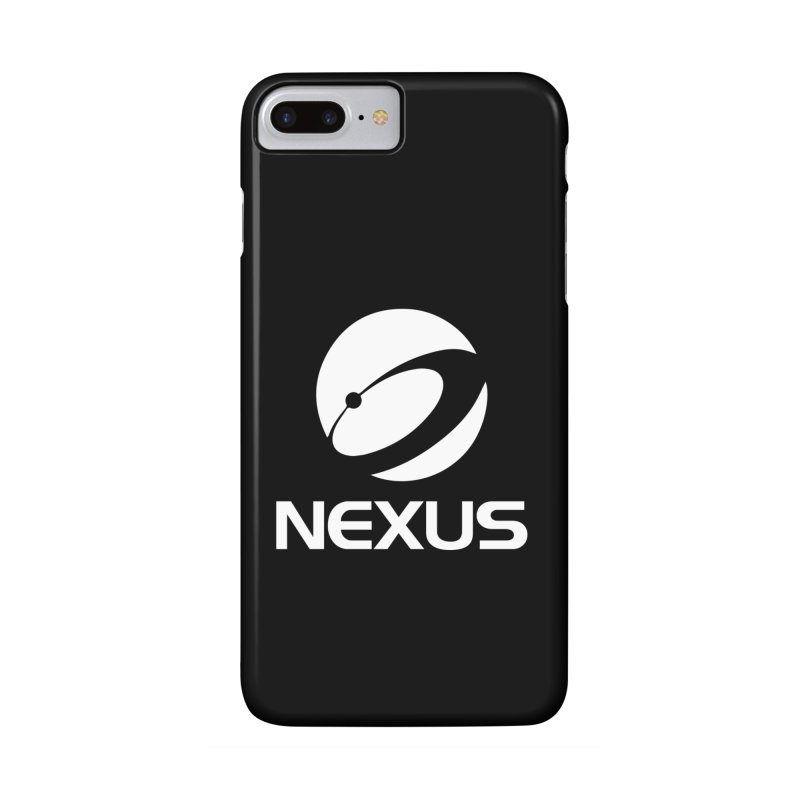 White Nexus Logo Accessories Phone Case by NexusEarth's Shop