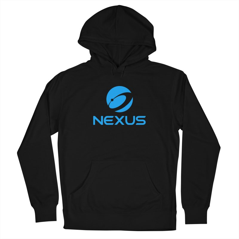 Original Nexus Logo Women's French Terry Pullover Hoody by Nexus Shop