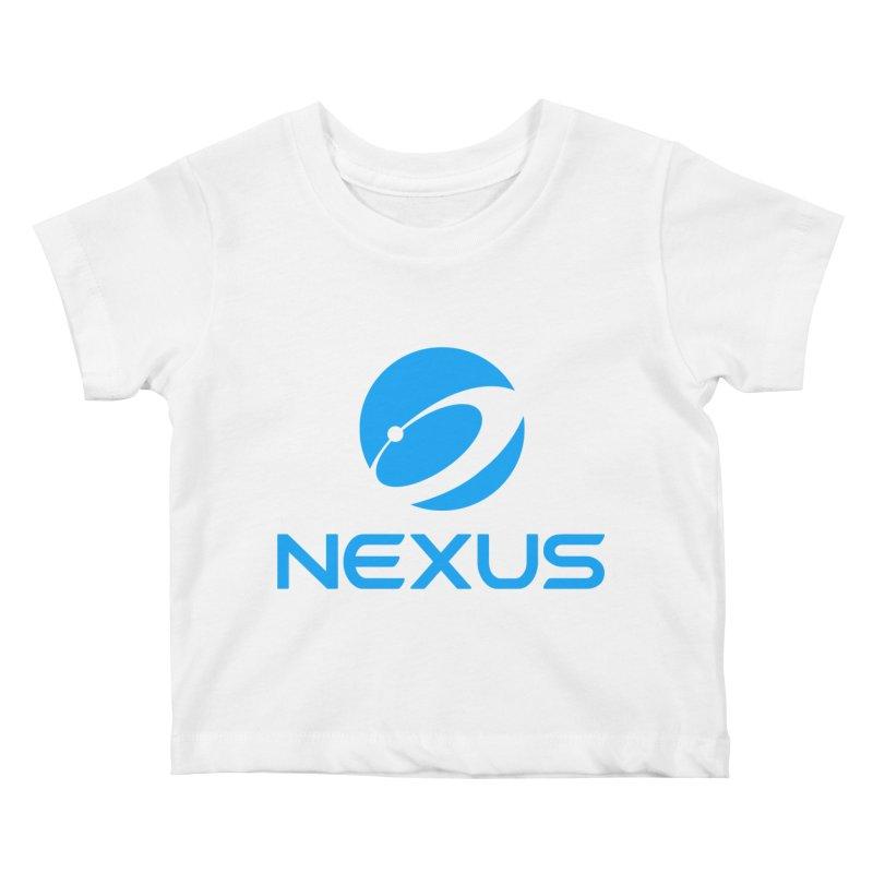 Original Nexus Logo Kids Baby T-Shirt by Nexus Shop