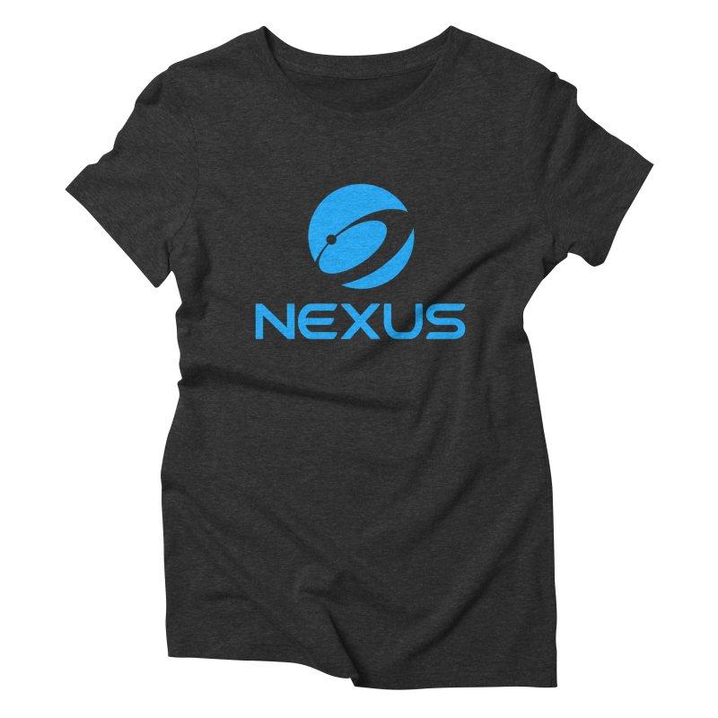 Original Nexus Logo Women's Triblend T-Shirt by Nexus Shop