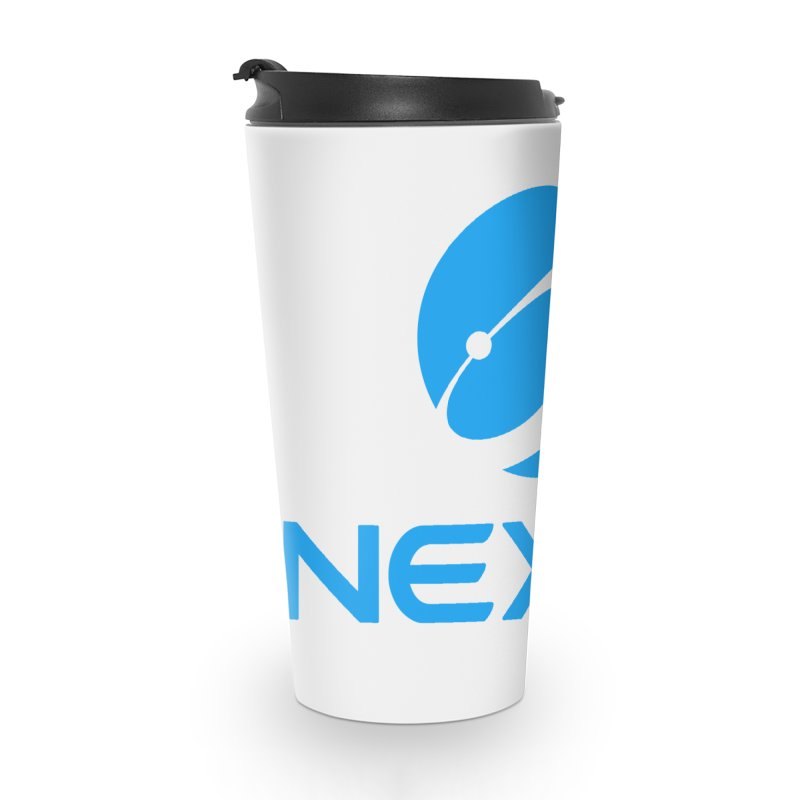 Original Nexus Logo Accessories Travel Mug by Nexus Shop