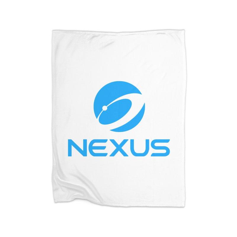 Original Nexus Logo Home Fleece Blanket Blanket by Nexus Shop