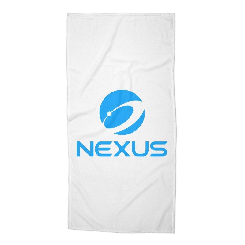 Original Nexus Logo Accessories Beach Towel by Nexus Shop