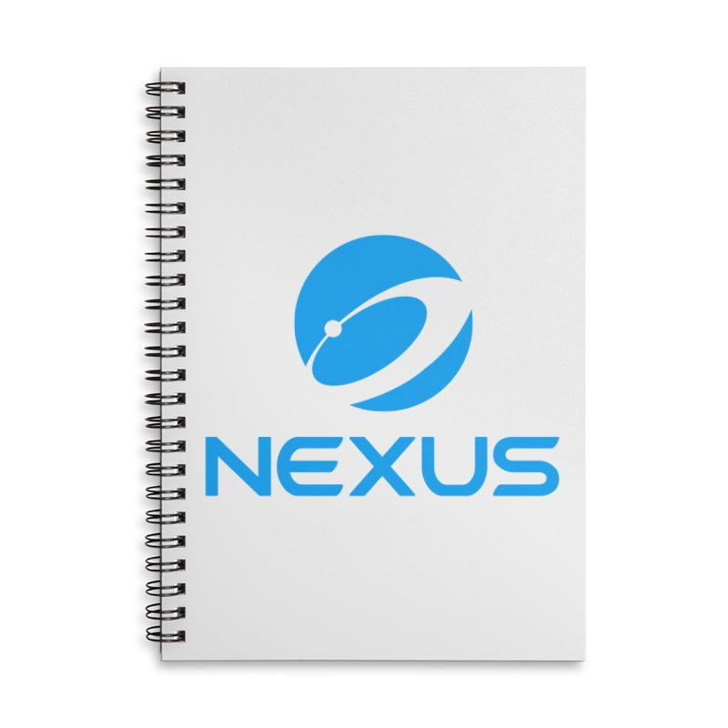 Original Nexus Logo Accessories Lined Spiral Notebook by Nexus Shop