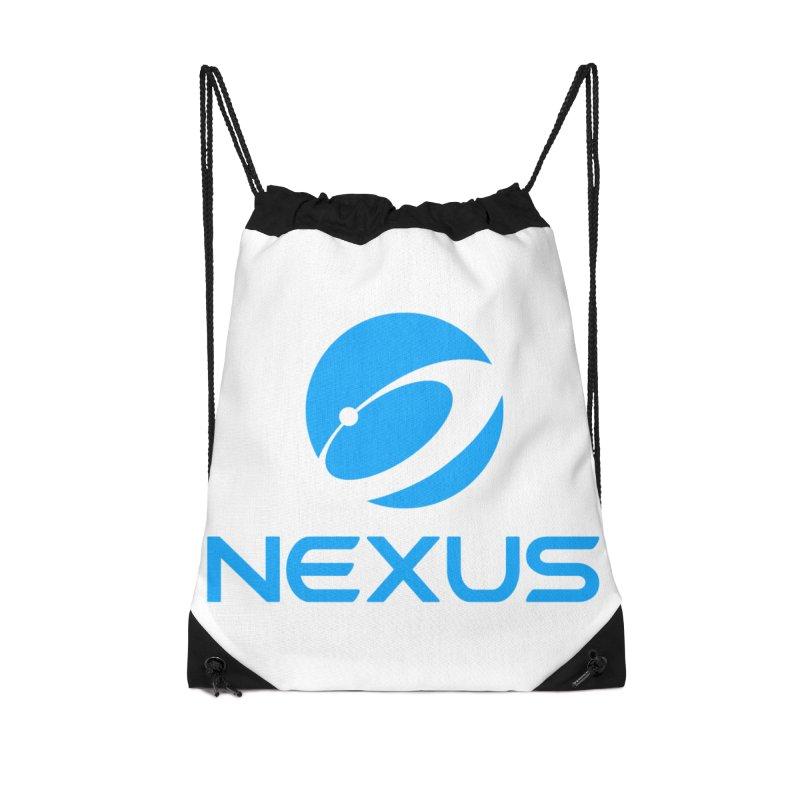 Original Nexus Logo Accessories Drawstring Bag Bag by Nexus Shop
