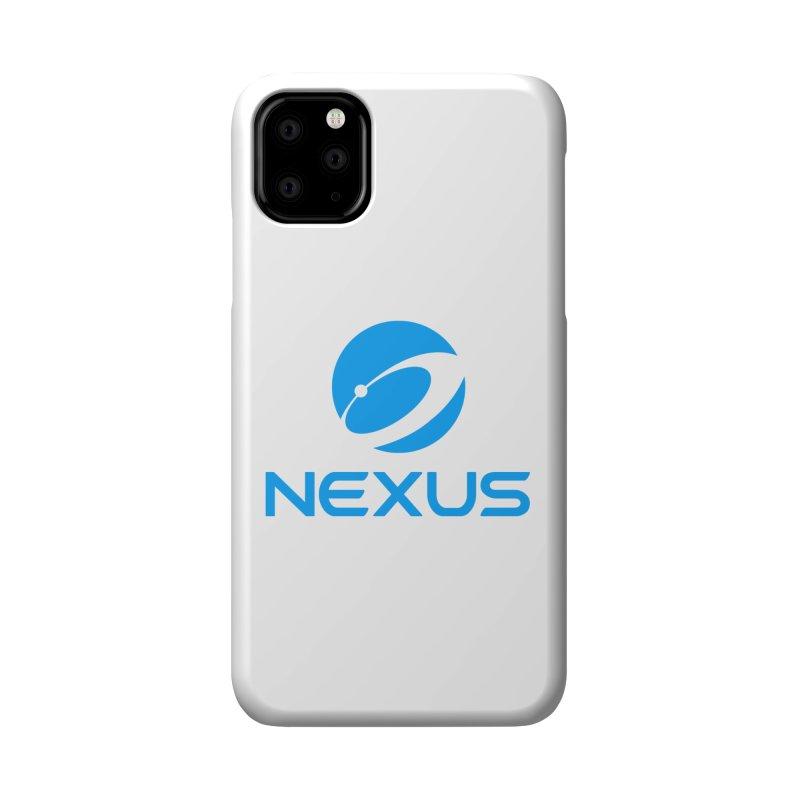 Original Nexus Logo Accessories Phone Case by Nexus Shop