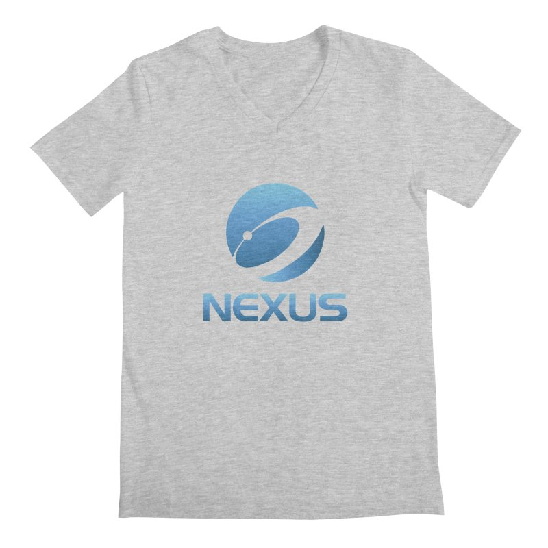 Original Nexus Logo Men's Regular V-Neck by NexusEarth's Shop