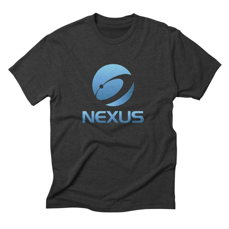 Original Nexus Logo in Men's Triblend T-shirt Heather Onyx by NexusEarth's Shop