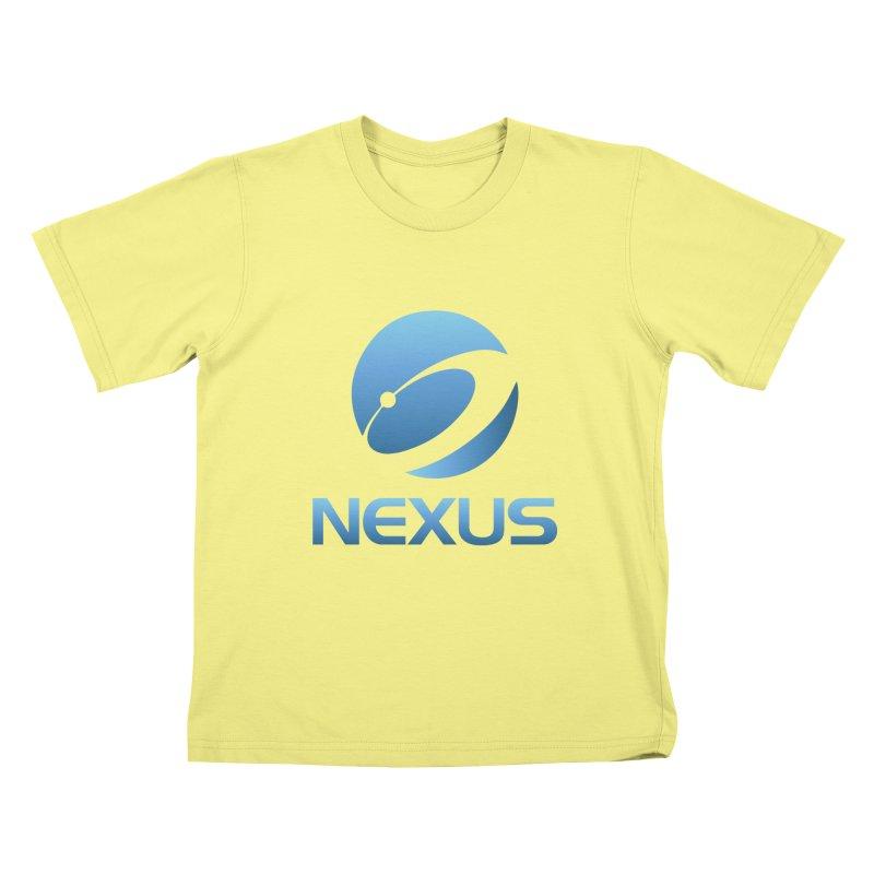 Original Nexus Logo Kids T-shirt by NexusEarth's Shop