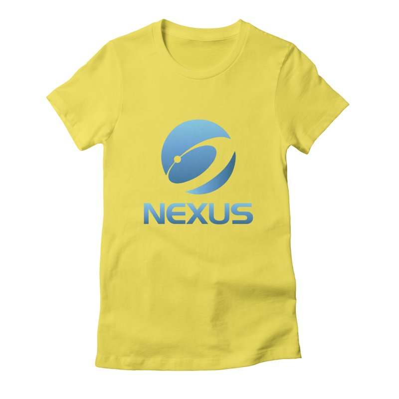 Original Nexus Logo Women's Fitted T-Shirt by NexusEarth's Shop